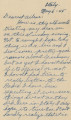 Letter to Ailene from Harlan, 1945-05-06