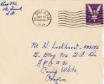 Card from the Lunns to Harlan, 1942-12-20