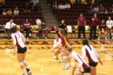 Volleyball Game vs Upper Iowa University, 2011-09-30