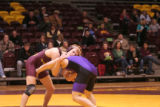 Wrestling Meet vs. Minnesota State University Mankato, 2012-02-09